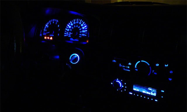 Changing Tacoma Instrument Cluster Lights For Piaa S Archive Fourwheelforum