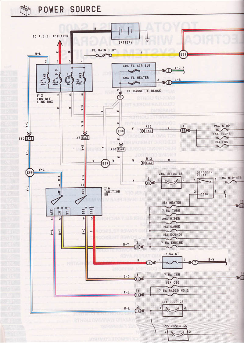 83 Toyota Alternator Wiring Diagram | Wiring Diagram on