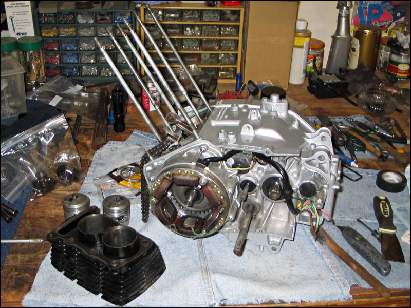 honda benly ca95 engine assembly timing fourwheelforum rh fourwheelforum com Honda CL 70 Honda Dream CA95