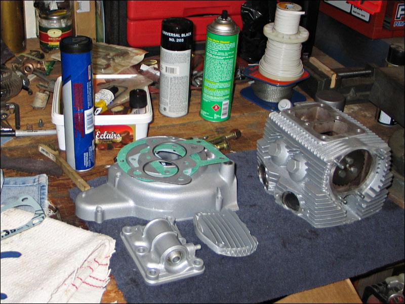 Honda Benly Ca95 Engine Assembly  U0026 Timing