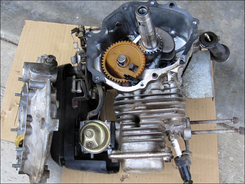 Honda Lawnmower Tear Down FourWheelForum – Diagram Of Honda Lawn Mower Engine