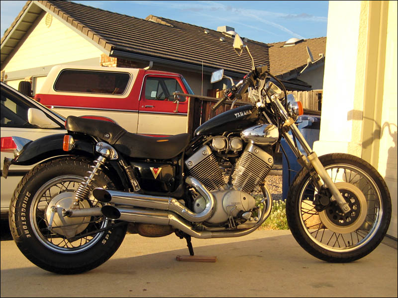 Yamaha Virago 535 Repair / Restoration ! - FourWheelForum