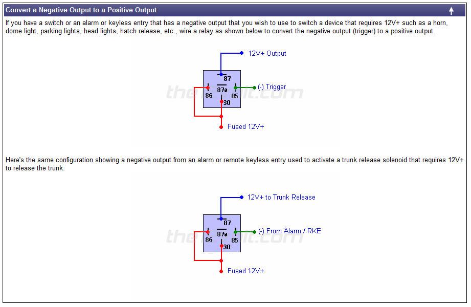 electronic_relay_wiring_01 how to wire relays fourwheelforum Relay Switch Wiring Diagram at crackthecode.co
